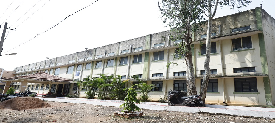 Rani Channamma University Campuse view